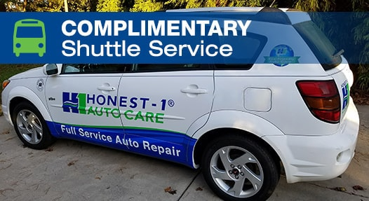 Complimentary Local Shuttle Service | Honest-1 Auto Care Clarksville